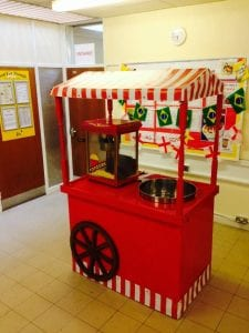 Christmas Party Entertainment - Fun Food Cart Hire