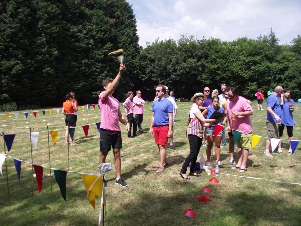 Welly Wanging & Welly Throwing - Corporate Sports Day