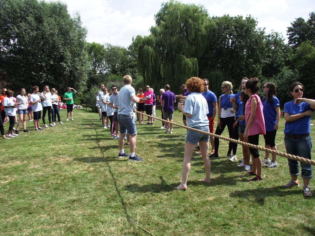Tug of War - Corporate Sports Day