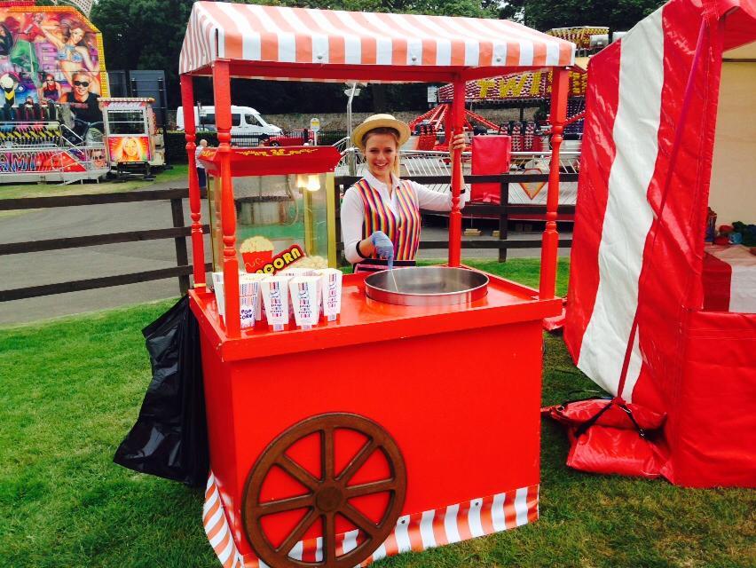 Popcorn & Candy Floss Cart Hire