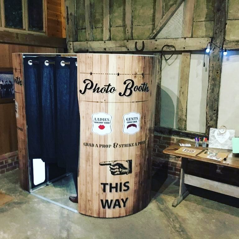 Rustic Style Photobooth Hire