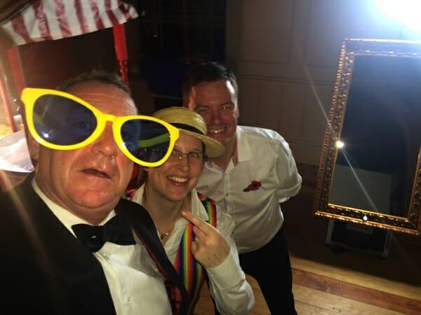 Corporate Event - Magic Selfie Mirror Hire