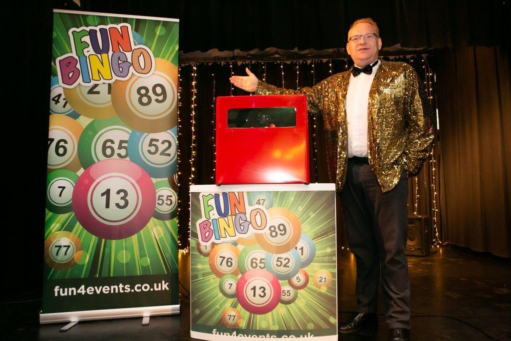Corporate Bingo Host