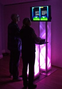 Retro Arcade Games Hire for Christmas Party Entertainment