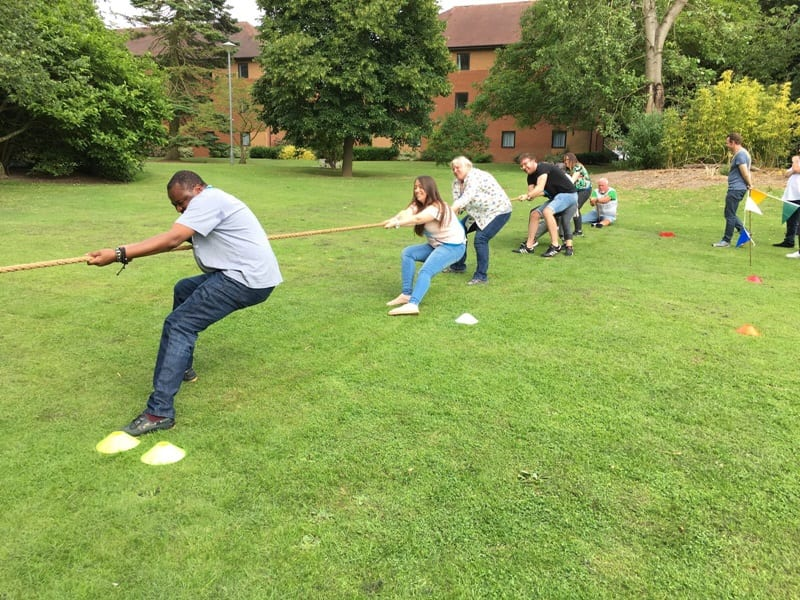 Tug of War - Team Building Activity