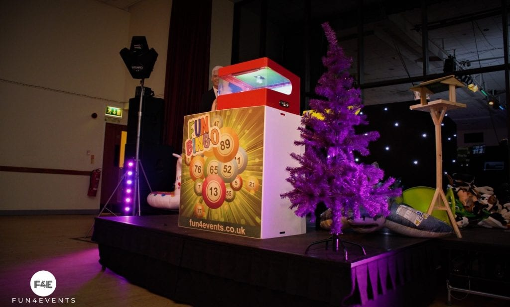 Fun Crazy Bingo for Events in the UK.